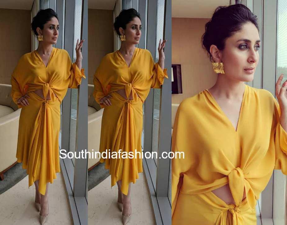 kareena kapoor yellow dress
