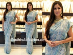 katrina kaif tarun tahiliani saree jewellery store launch
