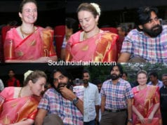 Pawan kalyan with his wife Anna Lezhneva at Trivikram wife's Bharathanatyam Recital