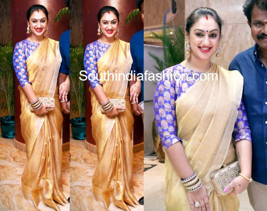 preetha hari traditional saree
