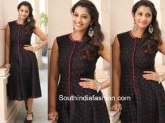 priya bhavani shankar ikat dress