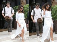 priyanka chopra and nick jonas on white dresses london