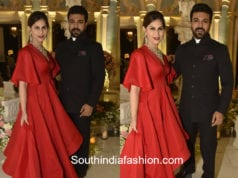 ram charan upasana at shriya bhupal wedding bash