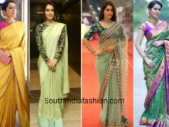rashi khanna saree looks