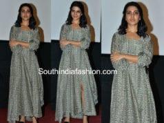 samantha akkineni masaba dress goodachari teaser launch