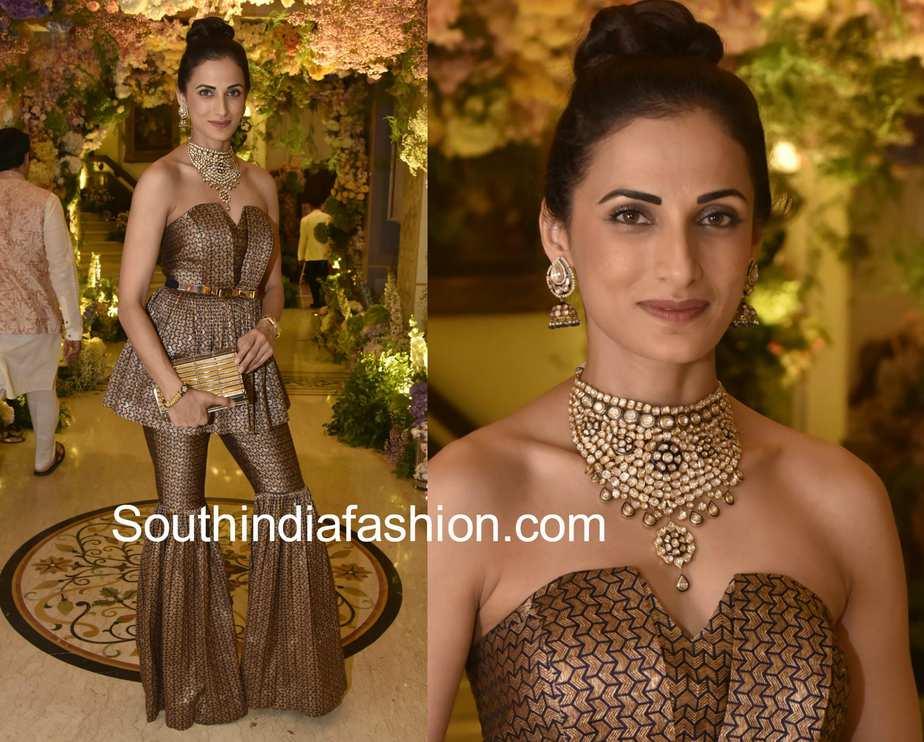 shilpa reddy dress in shriya bhupal sangeet