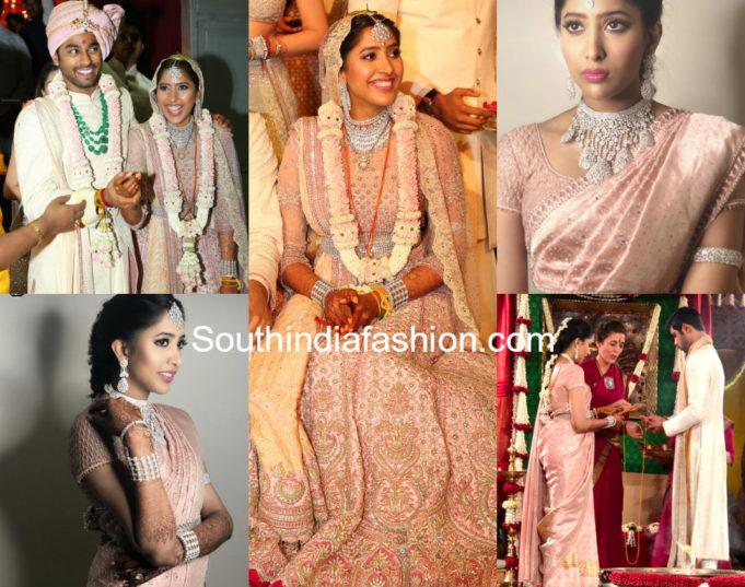 shriya bhupal anindith reddy wedding photos
