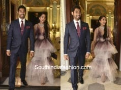 shriya bhupal anindith reddy wedding bash taj falaknuma