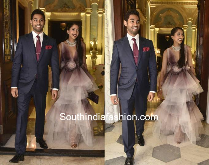 shriya bhupal anindith reddy wedding bash taj falaknuma