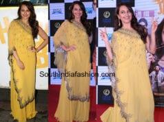 sonakshi sinha nupur kanoi yellow dress