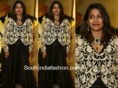 sushmita konidela black dress anindith shriya bhupal pre wedding