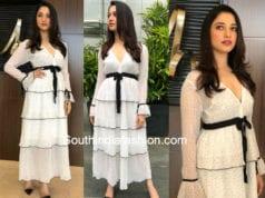 tamannaah bhtia white dress