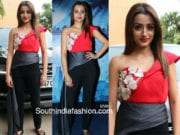 trisha krishnan dress mohini promotions