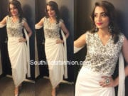 trisha krishnan white dress