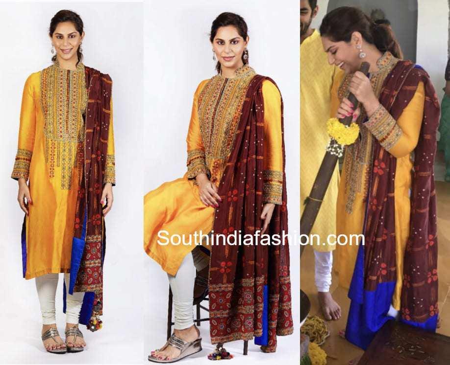 upasana kamineni anamika khanna salwar kameez anindith reddy wedding