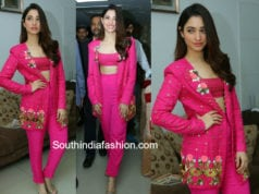 TAMANNAAH BHATIA PINK PANT SUIT PAPA DONT PREACH BY SHUBHIKA