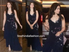 alia bhatt black dress priyanka chopra engagement
