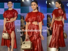 alia bhatt in prabal gurung red dress