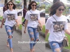 alia bhatt jeans and white t shirt