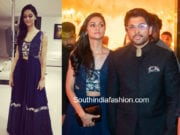 allu arjun and sneha reddy at sabitha indra reddy son wedding reception