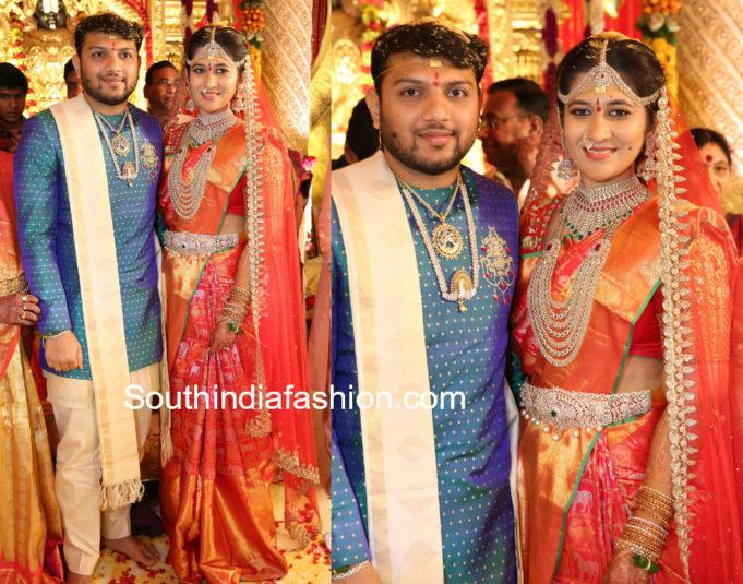 bandla ganesh niece ashritha wedding