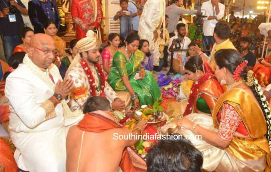 AP Minister Bhuma Akhila Priya and Bhargava Ram Wedding