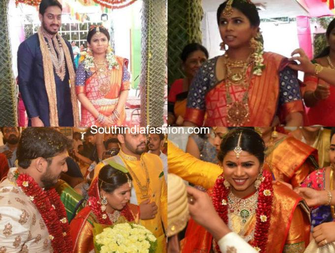 bhuma akhila priya marriage photos