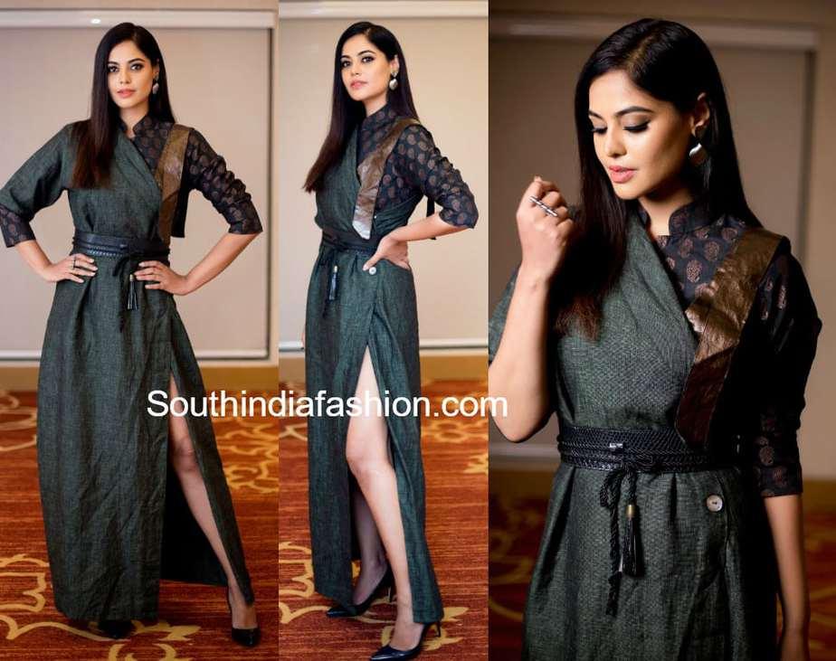bindu madhavi at miss diva 2018 show