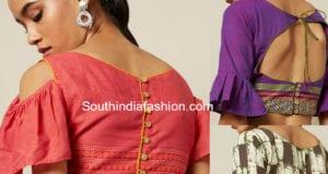 readymade cotton ruffle sleeves blouses