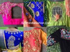 designer blouses by nyshka design studio