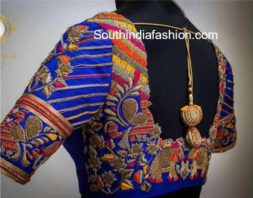 maggam work designer blouses