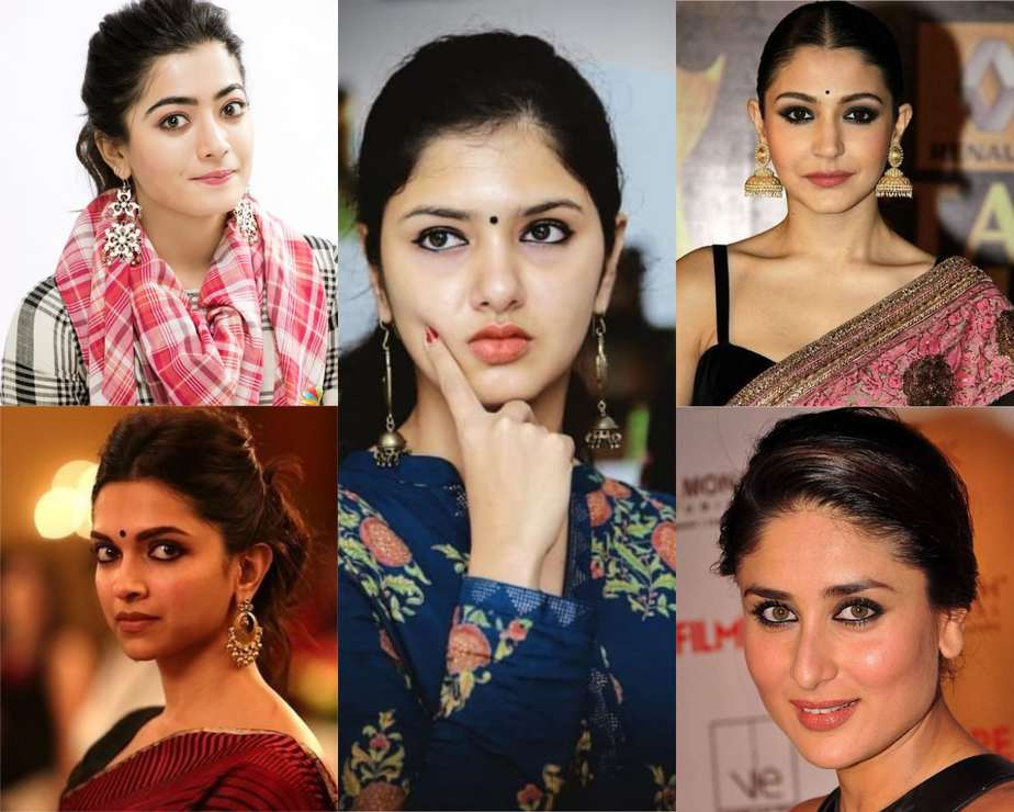 eye makeup of actresses