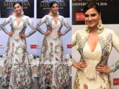 lara dutta in varun bahl gown at miss diva contest