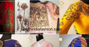 latest maggam work blouse designs 2018