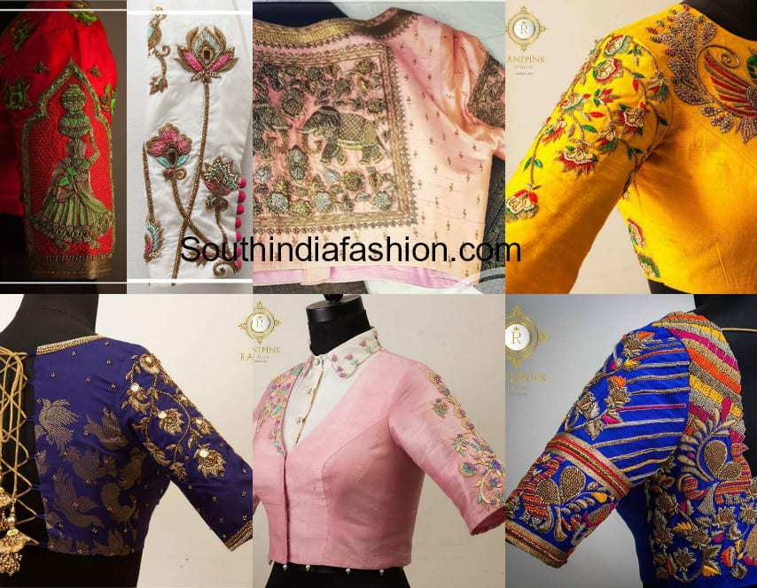 latest maggam work blouse designs 2018