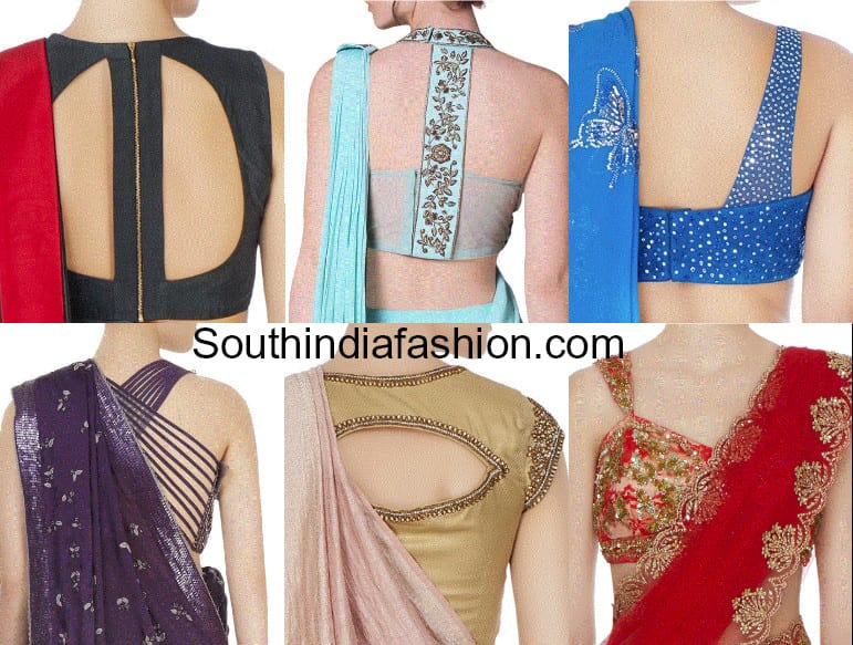 Saree Blouse Designs For 2018