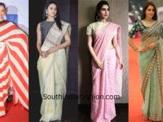 light weight sarees for parties