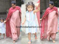 mira rajput with daughter misha