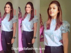nayanthara casual look in jeans