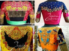 latest pattu saree blouse designs