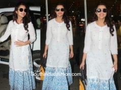 parineeti chopra skirt with kurta