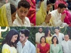 priyanka chopra roka ceremony photos