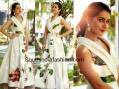 raashi khanna white dress