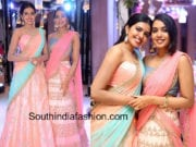 rajasekhar daughters half sarees