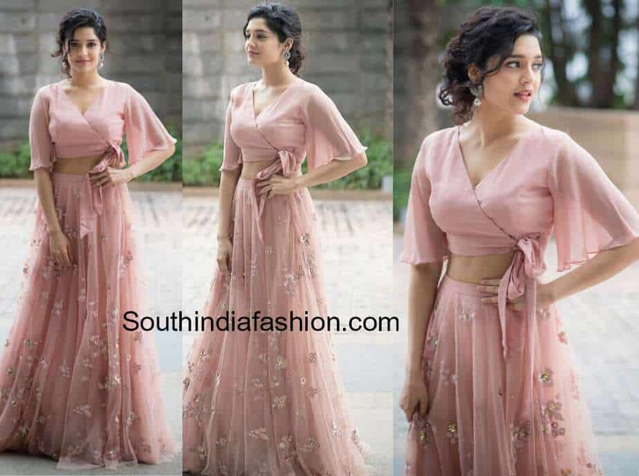 2776ce80fa69d Ritika Singh in Taavare Clothing – South India Fashion