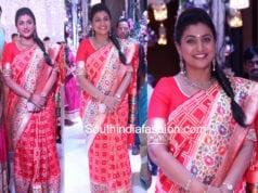 roja paithani silk saree