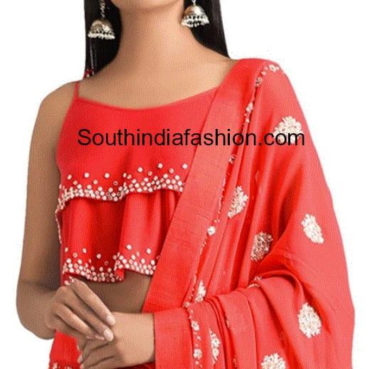 saree blouse designs 2018