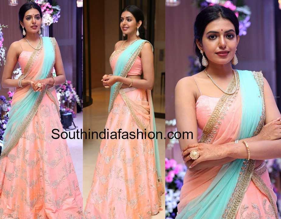 shivani rajasekhar half saree