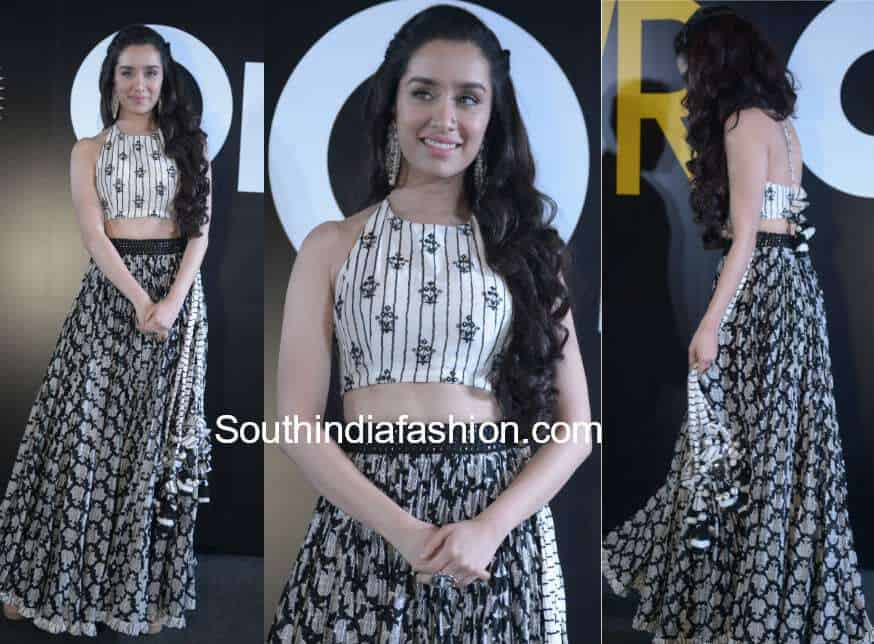 4f8b3233f1cc8 Shraddha Kapoor in Punit Balana for Stree promotions – South India ...