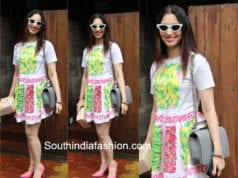 tamannaah bhatia white short dress